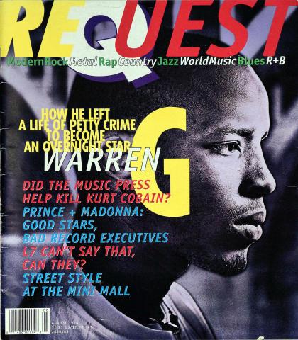Request Magazine August 1994