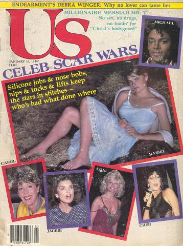 Us Magazine January 16, 1984