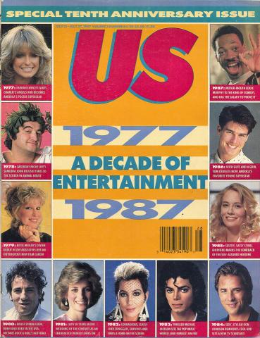 Us Magazine July 13, 1987