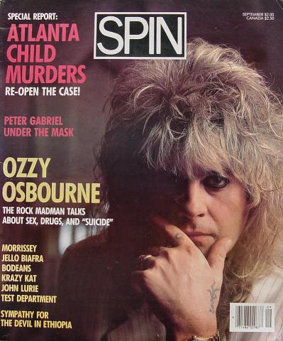 Spin Magazine September 1986
