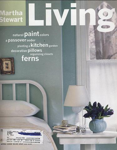Martha Stewart Living Magazine April 1995