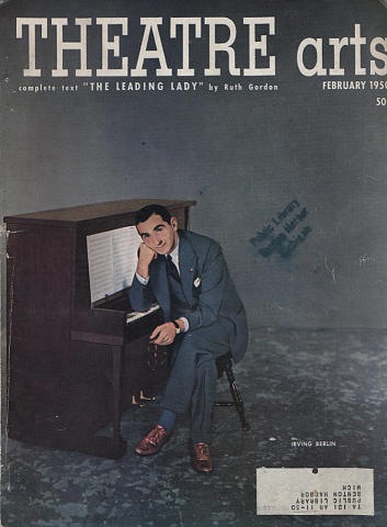 Theatre Arts Magazine February 1950