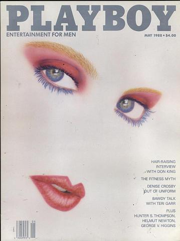 Playboy Magazine May 1, 1988