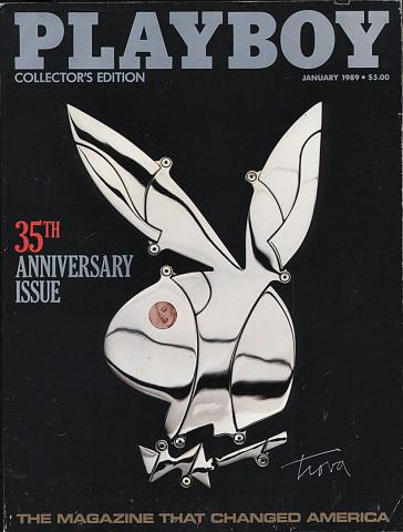 Playboy Magazine January 1, 1989