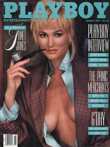 Playboy Magazine March 1, 1987