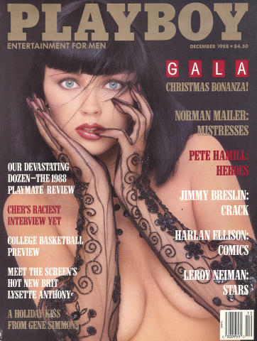 Playboy Magazine December 1, 1988