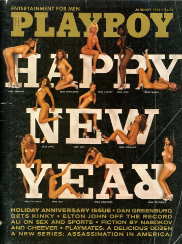 Playboy Magazine January 1, 1976