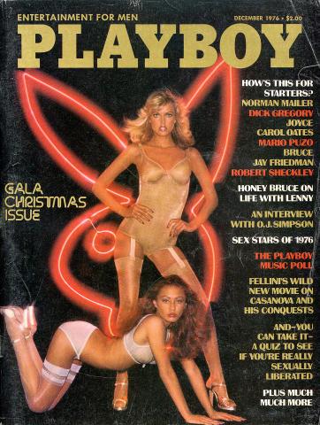 Playboy Magazine December 1, 1976