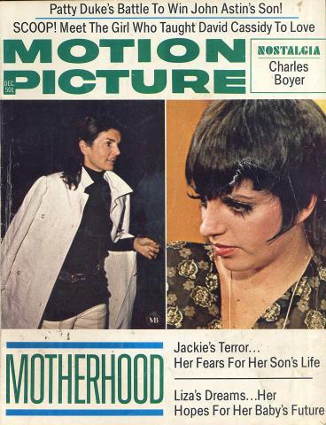 Motion Picture Magazine December 1972