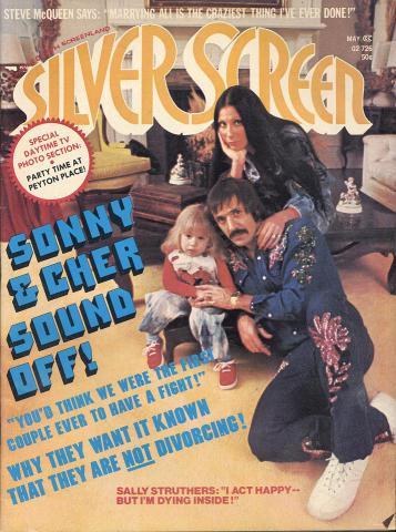 Silver Screen Magazine May 1973