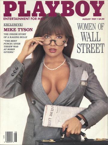 Playboy Magazine August 1, 1989