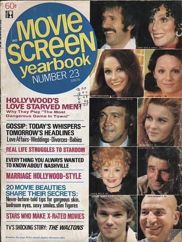 Movie Screen Yearbook January 1970