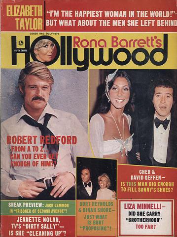 Rona Barrett Magazine July 1974