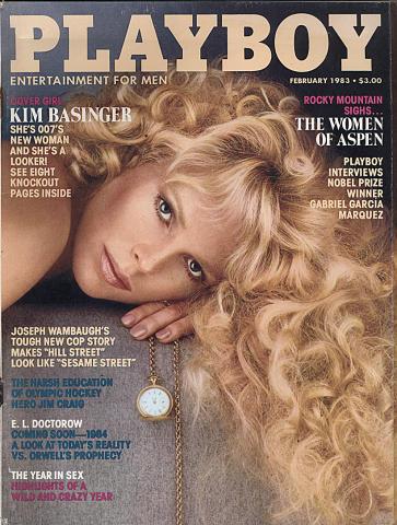 Playboy Magazine February 1, 1983