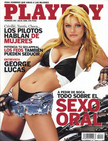Playboy Magazine Spain July 1999