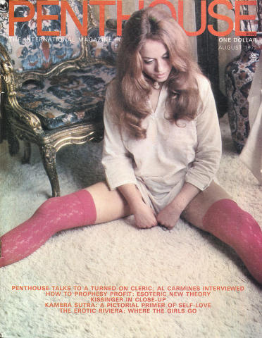 Penthouse Magazine August 1972