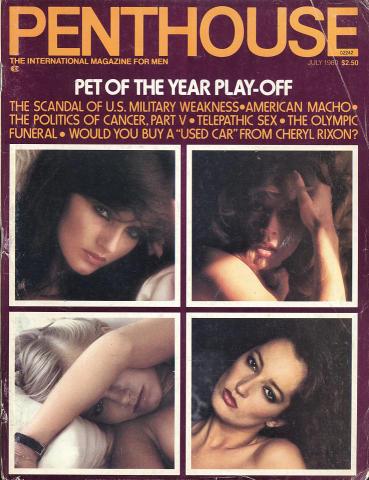 Penthouse Magazine July 1980