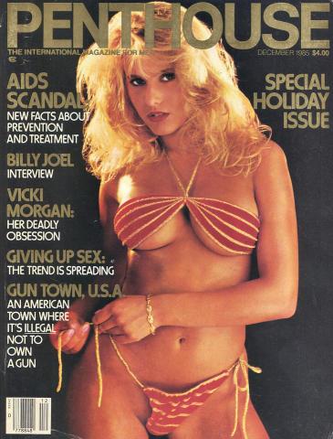 Penthouse Magazine December 1985