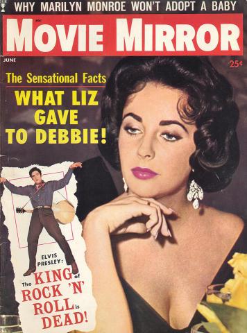 Movie Mirror Magazine June 1960