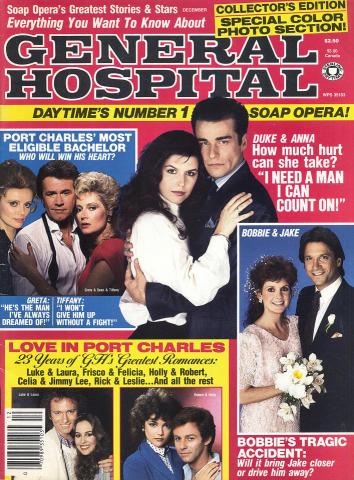 Soap Opera's Greatest Stories & Stars Magazine January 1987