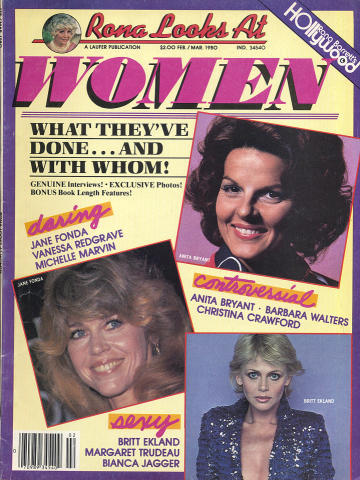 Rona Barrett Magazine February 1980