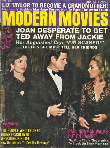 Modern Movies Magazine February 1971
