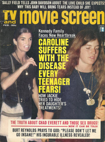 TV & Movie Screen Magazine February 1974