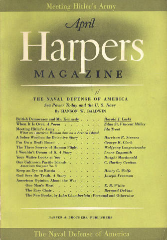 Harper's Magazine April 1941