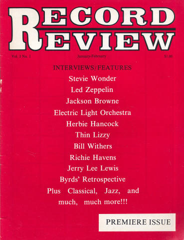 Record Review Magazine January 1976