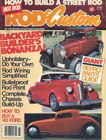 Hot Rod: Rod & Custom