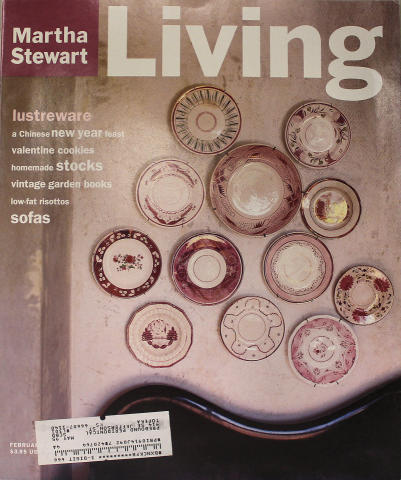 Martha Stewart Living Magazine February 1995