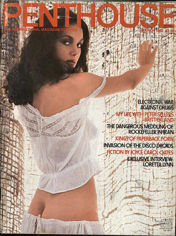 Penthouse Magazine March 1980