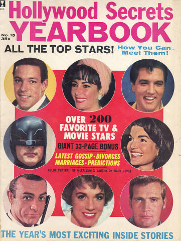 Hollywood Secrets Yearbook No. 15