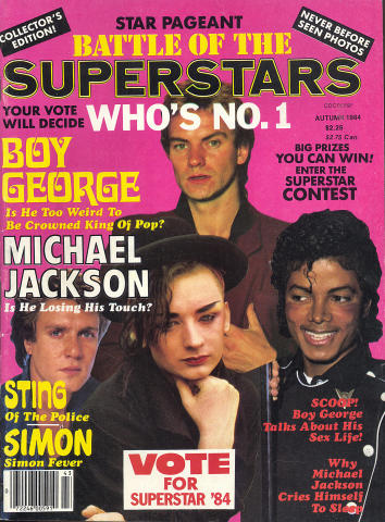 Star Pageant Magazine August 1984