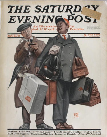 The Saturday Evening Post April 23, 1921