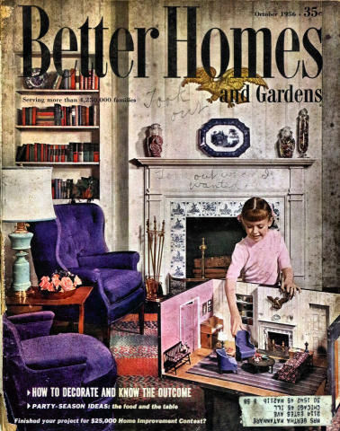 Better Homes And Gardens Magazine October 1956