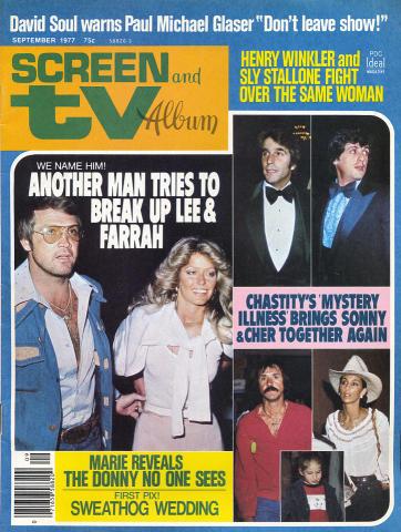 Screen and TV Album Magazine September 1977