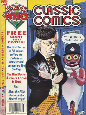 Doctor Who Classic Comics No. 7