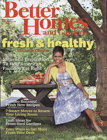 Better Homes And Gardens Magazine August 2011