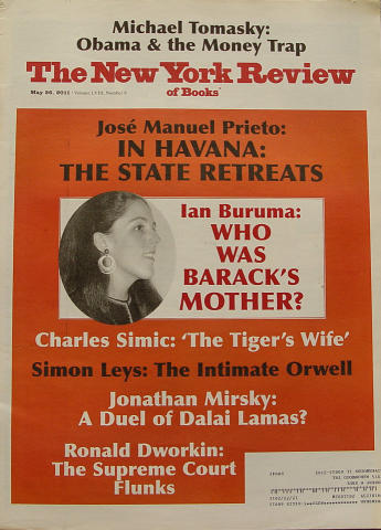The New York Review of Books May 26, 2011