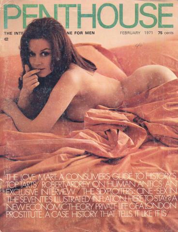 Penthouse Magazine February 1971