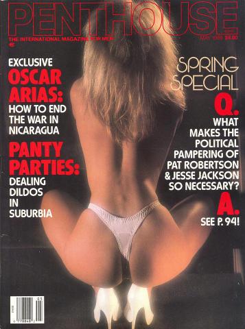 Penthouse Magazine May 1988