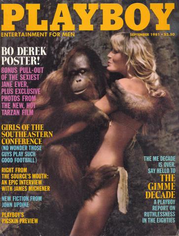 Playboy Magazine September 1, 1981