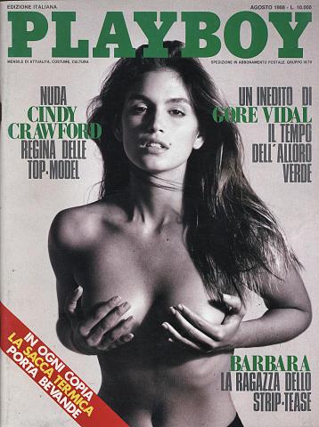 Playboy Magazine August 1, 1988