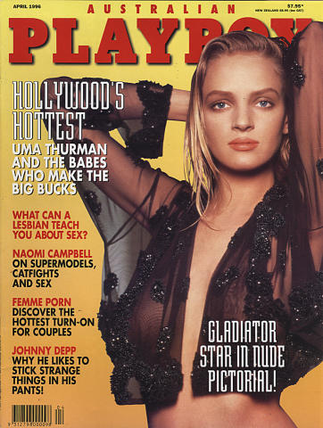 Australian Playboy Magazine April 1996