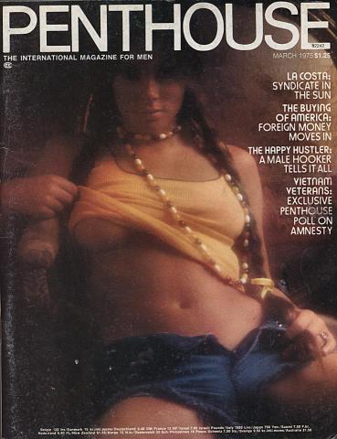 Penthouse Magazine March 1975