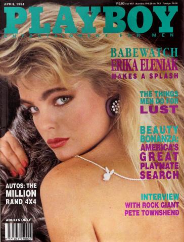 Playboy Magazine April 1, 1994