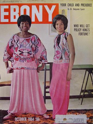 Ebony Magazine October 1964