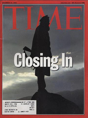 Time Magazine December 24, 2001