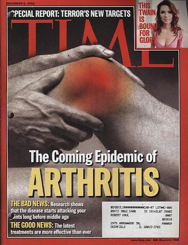 Time Magazine December 9, 2002